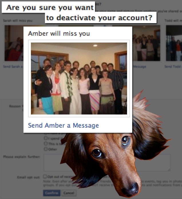 Are you sure you want to deactivate your account?